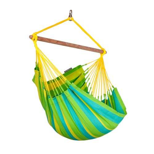 Sonrisa Lime - Silla colgante basic outdoor