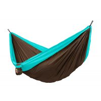 Colibri Turquoise - Double Travel Hammock with Suspension