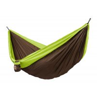 Colibri Green - Double Travel Hammock with Suspension