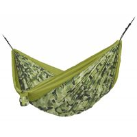 Colibri 3.0 Camo Forest - Double Travel Hammock with Suspension
