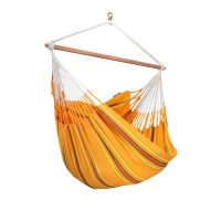 Currambera Apricot - Cotton Lounger Hammock Chair