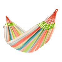 Domingo Coral - Weather-Resistant Kingsize Classic Hammock