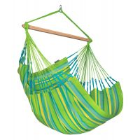 Domingo Lime - Weather-Resistant Comfort Hammock Chair