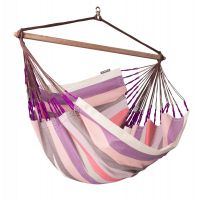 Domingo Plum - Weather-Resistant Lounger Hammock Chair