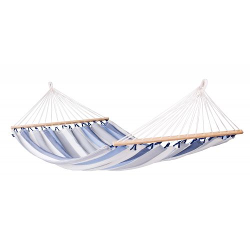 Alisio Sea Salt - Weather-Resistant Double Spreader Bar Hammock