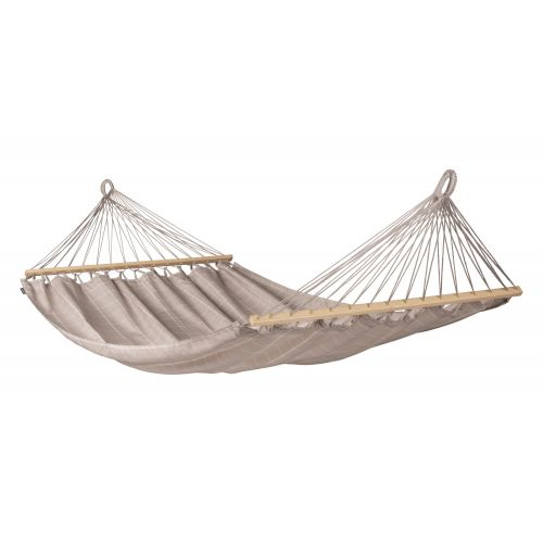 Alisio Almond - Weather-Resistant Double Spreader Bar Hammock