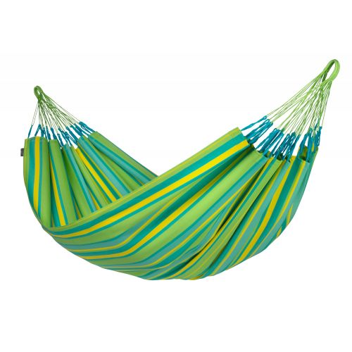Brisa Lime - Weather-Resistant Double Classic Hammock