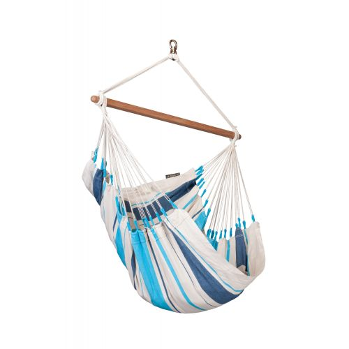 Caribeña Aqua Blue - Cotton Basic Hammock Chair