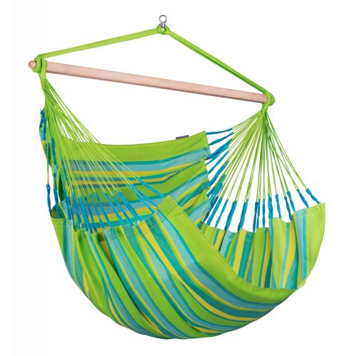 Domingo Lime - Weather-Resistant Kingsize Hammock Chair
