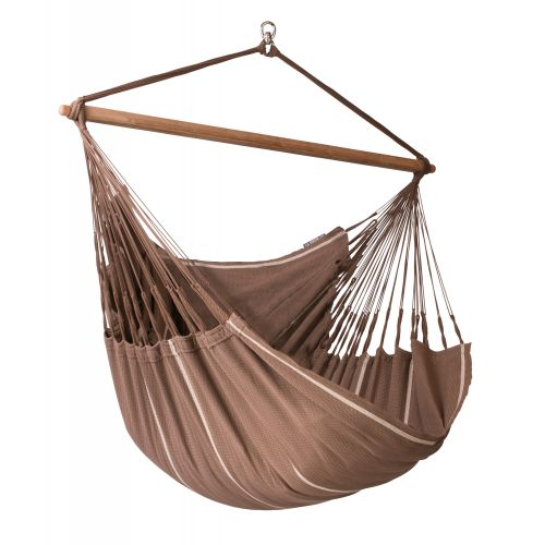 Habana Chocolate - Organic Cotton Lounger Hammock Chair