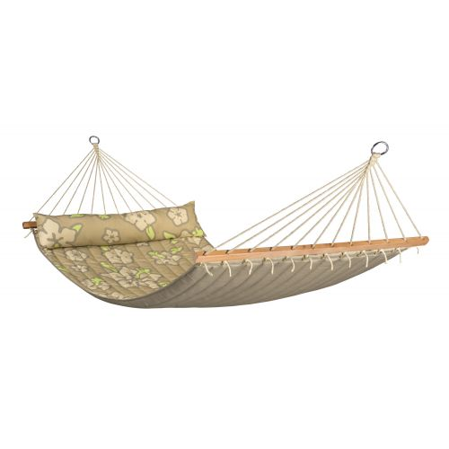 Hawaii Coconut - Quilted Double Spreader Bar Hammock