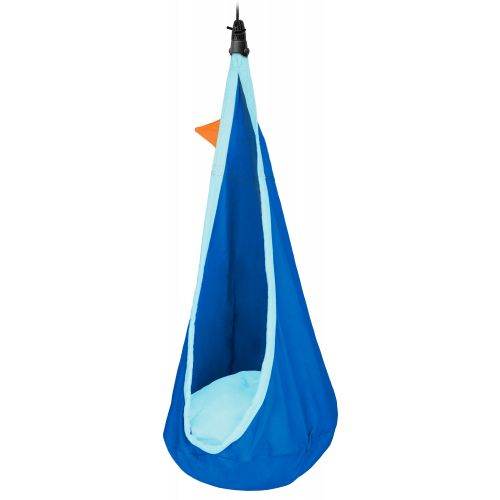 Joki Dolphy - Organic Cotton Kids Hanging Nest with Suspension