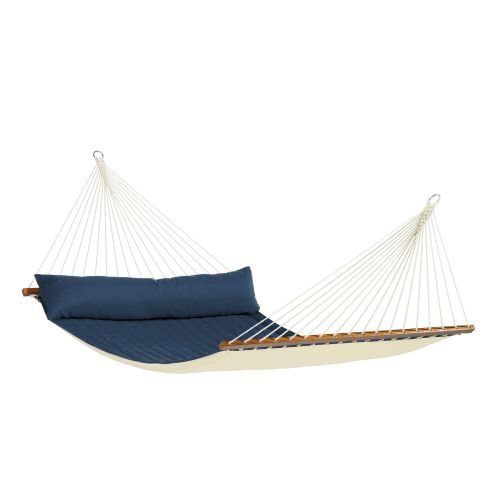 Alabama Navy Blue - Quilted Kingsize Spreader Bar Hammock