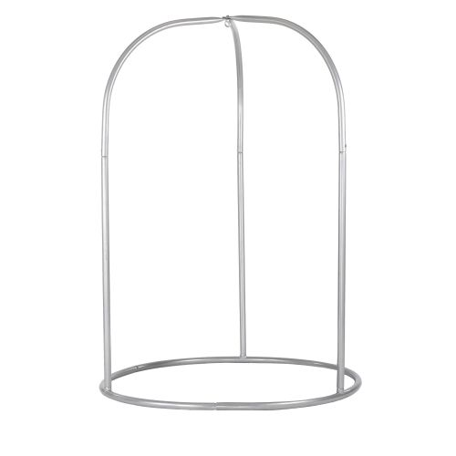 Romano Silver - Powder Coated Steel Stand for Basic or Lounger Hammock Chairs
