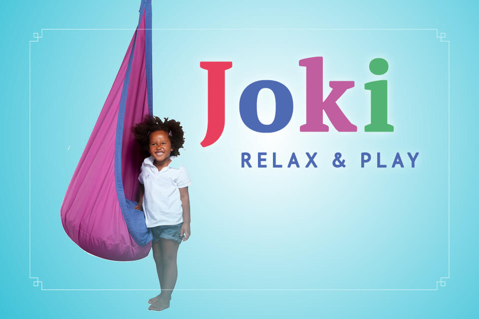 Joki Relax & Play: the Original Kids Hanging Nest Chair
