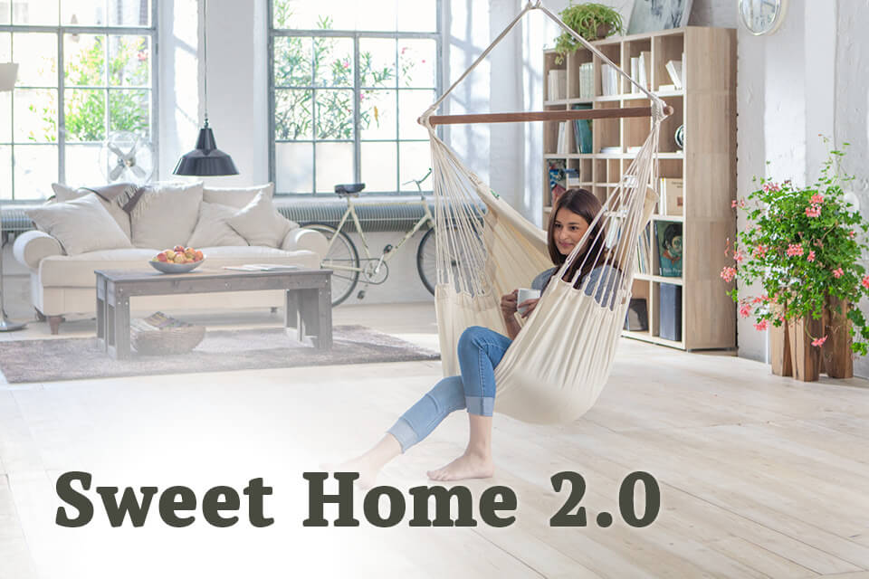 Build Your Sweet Home With LA SIESTA Hanging Chair Hammocks