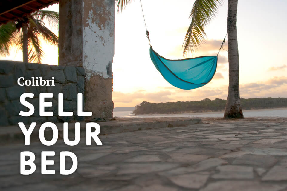 Colibri Camping Hammock: Sell Your Bed